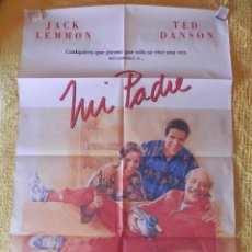 Cine: POSTER CARTEL ORIGINAL PELÍCULA: MI PADRE JACK LEMMON TED DANSON. Lote 149338501