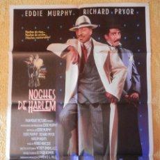 Cine: POSTER CARTEL ORIGINAL PELÍCULA: NOCHES DE HARLEM EDDY MURPHY. Lote 149338521