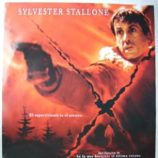 Cine: D-TOX (OJO ASESINO), CON SYLVESTER STALLONE. POSTER 68 X 96 CMS. 2001.. Lote 149360994