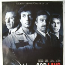 Cinema: COP LAND, CON SYLVESTER STALLONE. POSTER 68 X 98 CMS. 1997.. Lote 149367530