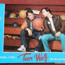 Cine: 4 LOBBY CARD TEEN WOLF MICHAEL J. FOX - VER TODOS EN LA FICHA DE VENTA-. Lote 149400818