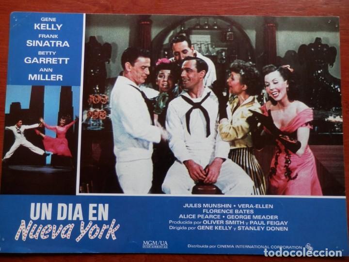 5 LOBBY CARD UN DIA EN NUEVA YORK FRANK SINATRA GENE KELLY - VER TODOS EN LA FICHA DE VENTA- (Cine - Posters y Carteles - Musicales)