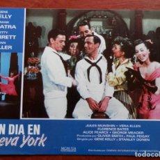 Cine: 5 LOBBY CARD UN DIA EN NUEVA YORK FRANK SINATRA GENE KELLY - VER TODOS EN LA FICHA DE VENTA-. Lote 149402082