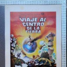 Cine: 5 LOBBY CARD VIAJE AL CENTRO DE LA TIERRA JAMES MASON PAT BOONE - VER TODOS EN LA FICHA DE VENTA-. Lote 149402466