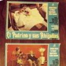 Cine: 3 CARTELES EL PADRINO Y SUS AHIJADAS, 1973, 48 X 35 CM. Lote 149491046