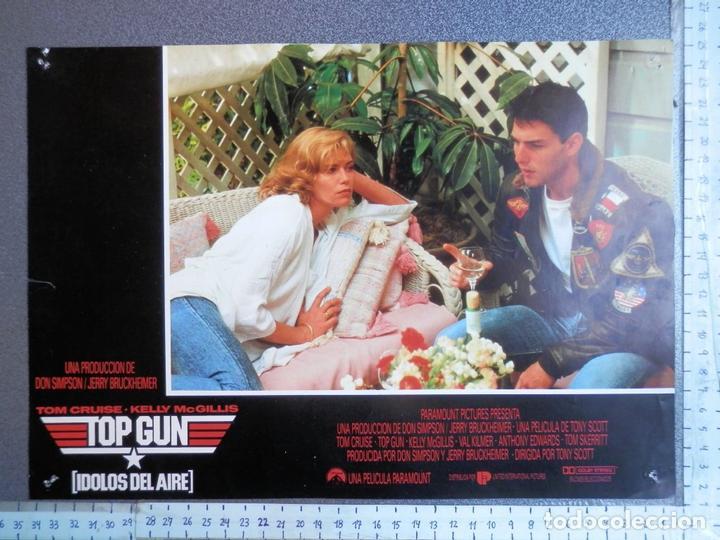 1 LOBBY CARD TOP GUN TOM CRUISE (Cine - Posters y Carteles - Acción)