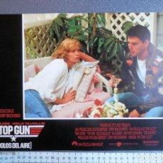 Cine: 1 LOBBY CARD TOP GUN TOM CRUISE. Lote 149491070