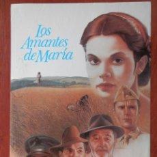 Cine: 2 LOBBY CARD LOS AMANTES DE MARÍA ROBERT MICHUN KEITH CARRADINE. Lote 149491114