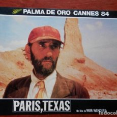 Cinema: 2 LOBBY CARD PARIS, TEXAS WIM WENDERS. Lote 149491154