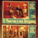 Cine: 3 CARTELES EL PADRINO Y SUS AHIJADAS, 1973, 48 X 35 CM. Lote 149491202
