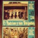 Cine: 3 CARTELES EL PADRINO Y SUS AHIJADAS, 1973, 48 X 35 CM. Lote 149491258