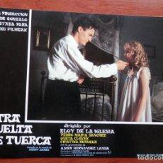 Cinema: 3 LOBBY CARD OTRA VUELTA DE TUERCA ELOY DE LA IGLESIA QUETA CLAVER. Lote 149491389