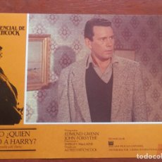 Cine: 3 LOBBY CARD PERO ¿QUIÉN MATÓ A HARRY? ALFRED HITCHCOCK SHIRLEY MACLAINE. Lote 149491397