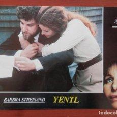Cine: 3 LOBBY CARD YENTL BARBARA STREISAND. Lote 149491513