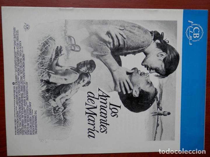 GUIA CINE CUATRO HOJAS: LOS AMANTES DE MARIA NATASSJA KINSKI (Cine - Posters y Carteles - Bélicas)