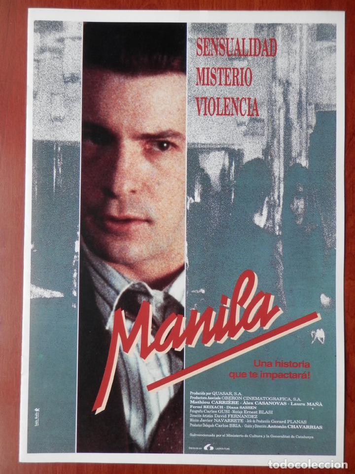 GUIA CINE CUATRO HOJAS: MANILA MATHIEU CARRIERE (Cine - Posters y Carteles - Bélicas)