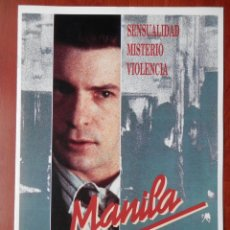 Cinema: GUIA CINE CUATRO HOJAS: MANILA MATHIEU CARRIERE. Lote 149493332