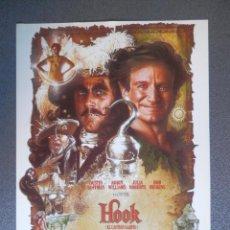 Cine: GUIA DE CINE 1 HOJA: HOOK - DUSTIN HOFFMAN Y JULIA ROBERTS. Lote 149493770