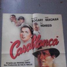 Cine: CARTEL EDICION LIMITADA CASABLANZA. BOGART.. Lote 149513710