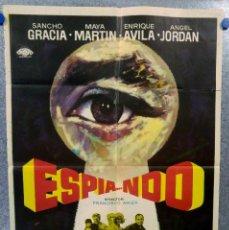 Cine: ESPIA...NDO. SANCHO GRACIA, MAYA MARTIN, ENRIQUE AVILA, ANGEL JORDAN. AÑO 1971. Lote 149569398