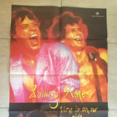 Cine: TIME IS ON OUR SIDE ROLLING STONES POSTER ORIGINAL 70X100. Lote 149695594