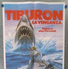 Cine: TIBURON LA VENGANZA 4 , LORRAINE GARY, LANCE GUEST. Lote 179581217