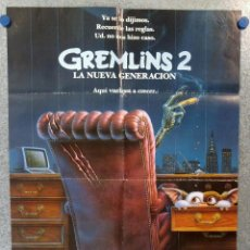 Cine: GREMLINS 2. STEVEN SPIELBERG, JOE DANTE, PHOEBE CATES. POSTER ORIGINAL. Lote 172720368