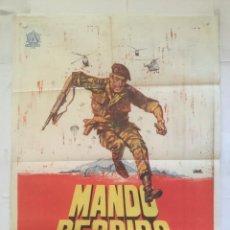 Cine: MANDO PERDIDO LOS CENTURIONES - POSTER CARTEL ORIGINAL - LOST COMMAND ANTHONY QUINN ALAIN DELON. Lote 150078938