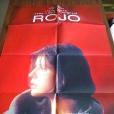 Cine: POSTER -- ROJO -- POSTER GRANDE + 10 FOTOGRAMAS -- ORIGINALES DE CINE -- . Lote 150273106