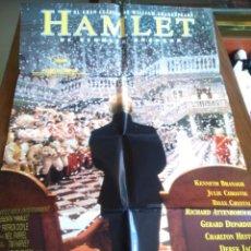Cine: POSTER -- HAMLET -- POSTER GRANDE + 11 FOTOGRAMAS -- ORIGINALES DE CINE -- . Lote 150275598