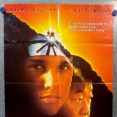 Cine: KARATE KID III. RALPH MACCHIO, PAT MORITA. AÑO 1989 - POSTER ORIGINAL. Lote 150831422