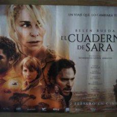 Cine: EL CUADERNO DE SARA - APROX 50X70 MINICARTEL ORIGINAL CINE (M3). Lote 150840458