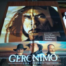 Cine: POSTER -- GERONIMO -- POSTER GRANDE -- ORIGINALES DE CINE -- . Lote 151297002