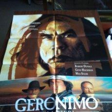 Cine: POSTER -- GERONIMO -- POSTER GRANDE -- ORIGINALES DE CINE -- . Lote 151297322