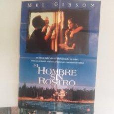 Cine: EL HOMBRE SIN ROSTRO Y 6 FOTOCROMOS DE LA MISMA PELICULA. Lote 151419862