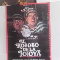Cine: EL ROBOBO DE LA JOJOYA Y 6 FOTOCROMOS DE LA MISMA PELICULA. Lote 151421602