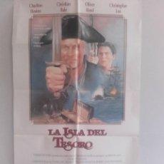 Cine: LA ISLA DEL TESORO Y 11 FOCROMOS DE LA MISMA PELICULA. Lote 151423490
