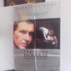 Cine: PRESUNTO INOCENTE Y 9 FOTOCROMOS DE LA MISMA PELICULA. Lote 151424390