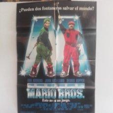 Cine: SUPER MARIO BROS Y 6 FOTOCROMOS DE LA MISMA PELICULA Y UNA GUIA. Lote 151428294