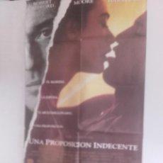Cine: UNA PROPOSICION INDECENTE Y 6 FOCROMOS Y GUIA DOBLE DE LA MISMA PELICULA. Lote 151433166