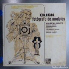 Cine: CLICK FOTOGRAFO DE MODELOS, MAURICIO GARCES - ORIGINAL PINTADO A MANO POR MONTALBAN - AÑO 1976. Lote 151436430