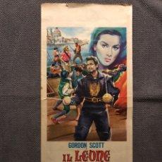 Cine: CINE. CARTEL. IL LEONE DI SAN MARCO. UN FILM DE LUIGI CAPUANO (A.1963). Lote 151437861