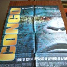 Cine: POSTER -- CONGO -- POSTER GRANDE + 11 FOTOGRAMAS -- ORIGINALES DE CINE -- . Lote 151505558