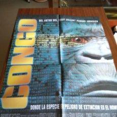 Cine: POSTER -- CONGO -- POSTER GRANDE -- ORIGINALES DE CINE -- . Lote 151505602