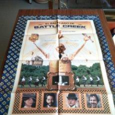 Cine: POSTER -- EL BALNEARIO DE BATTLE CREEK -- POSTER GRANDE -- ORIGINALES DE CINE -- . Lote 151505838
