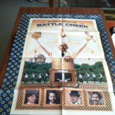 Cine: POSTER -- EL BALNEARIO DE BATTLE CREEK -- POSTER GRANDE -- ORIGINALES DE CINE -- . Lote 151505894