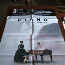 Cine: POSTER -- EL PIANO -- POSTER GRANDE -- ORIGINALES DE CINE -- . Lote 151506606
