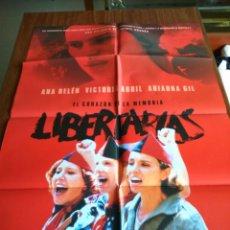 Cine: POSTER -- LIBERTARIAS -- POSTER GRANDE -- ORIGINALES DE CINE -- . Lote 151506670