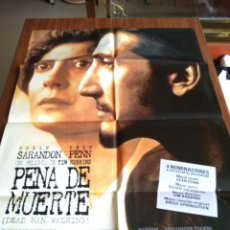 Cine: POSTER -- PENA DE MUERTE -- POSTER GRANDE -- ORIGINALES DE CINE -- . Lote 151506914