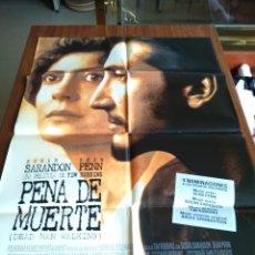 Cine: POSTER -- PENA DE MUERTE -- POSTER GRANDE -- ORIGINALES DE CINE -- . Lote 151507062